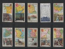 Cigarette cards set 1915 COUNTRIES AND INDUSTRIES